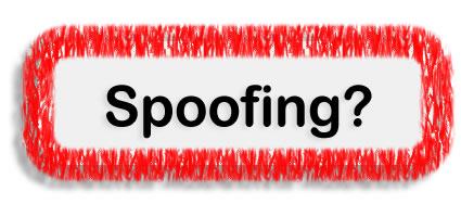 What is spoofing