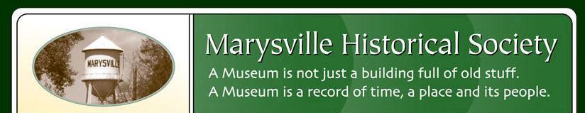 Marysville Historical Society
