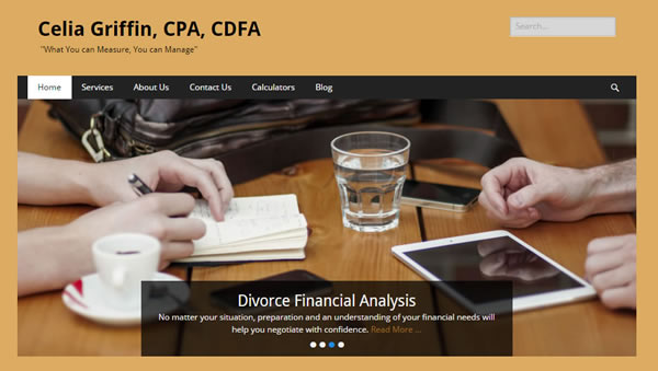 Celia Griffin, CPA, CDFA