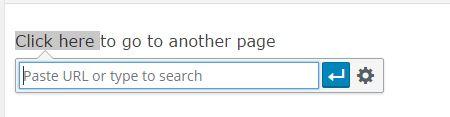 Add URL or search